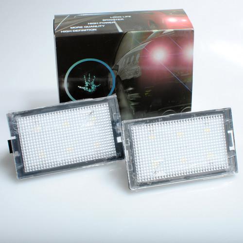 Φώτα LED πινακίδας της M-tech για LAND ROVER