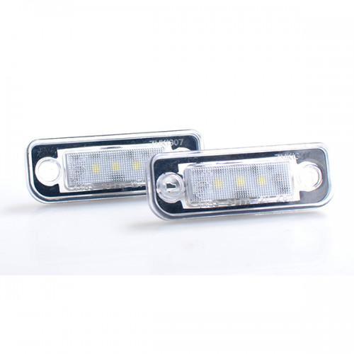 Φώτα LED πινακίδας της M-tech για MERCEDES 2ΤΕΜ.