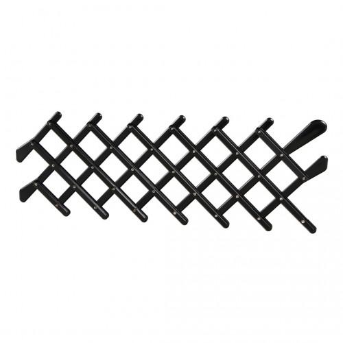 ΚΑΓΚΕΛΟ ΠΑΡΑΘΥΡΟΥ ΓΙΑ ΣΚΥΛΟΥΣ- ΚΑΤΟΙΚΙΔΙΑ ΖΩΑ (S) 42x20cm 8 ΠΛΕΓΜΑΤΩΝ PET WINDOW GATE-1ΤΕΜ.
