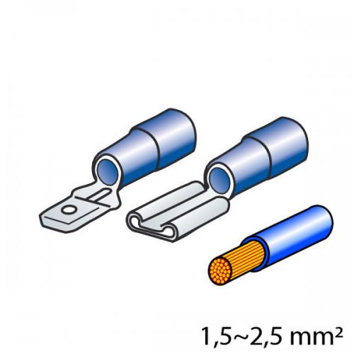 ΦΙΣΑΚΙΑ 6.3 x 0.8mm (40τμχ.)