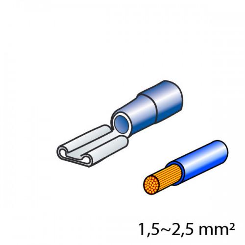 ΦΙΣΑΚΙΑ 6.3 x 0.8mm (10τμχ)