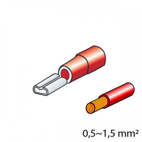 ΦΙΣΑΚΙΑ 2.8 x 0.5mm (12τμχ.)