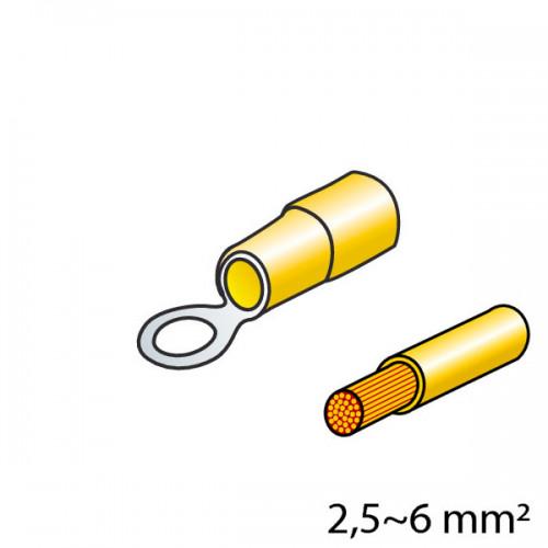 ΦΙΣΑΚΙΑ (ΚΙΤΡΙΝΟ - 5mm) - 10 ΤΕΜ.