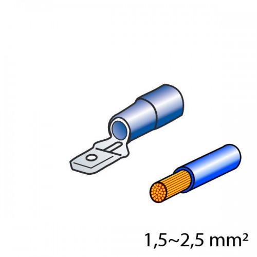 ΦΙΣΑΚΙΑ 6.3 x 0.8mm (10τμχ.)