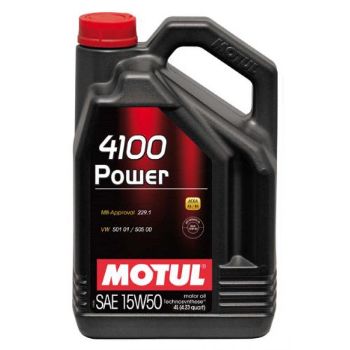 Motul 4100 Power 15W50 4lt