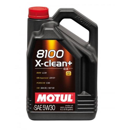 MOTUL 8100 X-clean 5W-30 C3 5LT