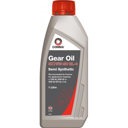 COMMA Gear Oil SX 75W-90 GL4
