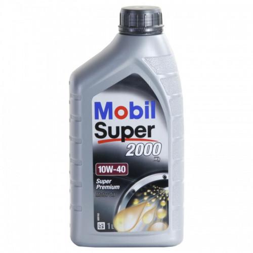 Λιπαντικό Κινητήρα Mobil Super Energy 2000 X1 10W40 1lt