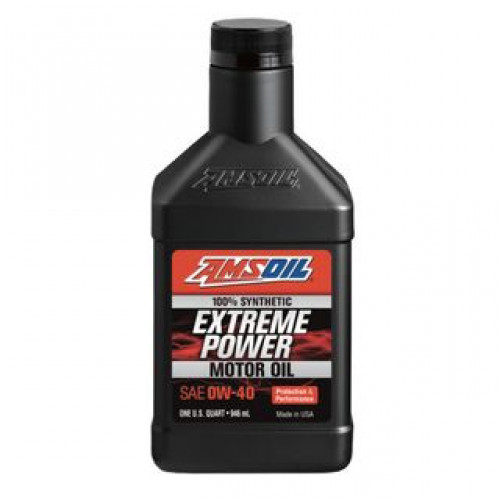 AMSOIL EXTREME POWER 0W40 SYNTHETIC MOTOR OIL