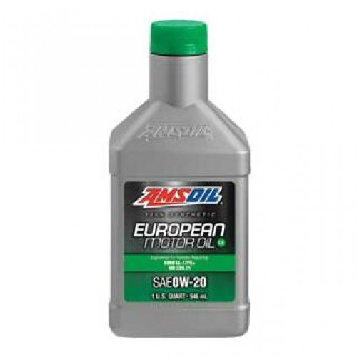 AMSOIL 100% SYNTHETIC 0W20 EUROPEAN MOTOR OIL LS
