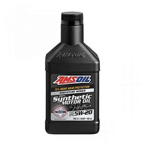 AMSOIL SIGNATURE SERIES 5W20 SYNTHETIC MOTOR OIL
