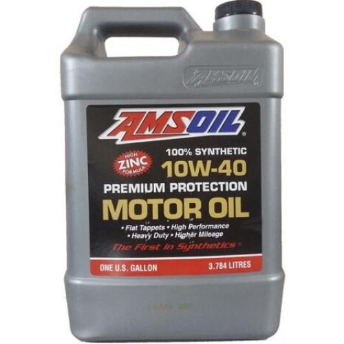 AMSOIL PREMIUM PROTECTION 10W40 SYNTHETIC MOTOR OIL - 1 GALLON