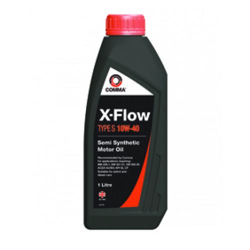 COMMA X-Flow Type S 10W-40 Semi Synthetic 1L