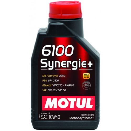 Motul 6100 SYNERGIE+ 10W-40 1LT