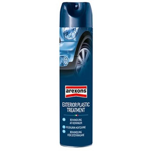 AREXONS Exterior Plastic Treatment Πλαστικών Spray 600ml