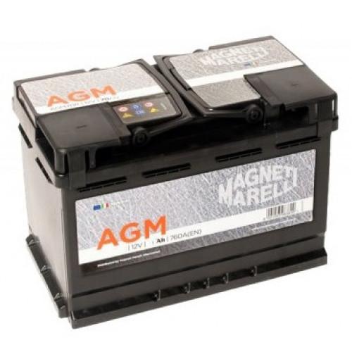 Μπαταρία MAGNETI MARELLI AGM95R 95AΗ 850A 353X175X190