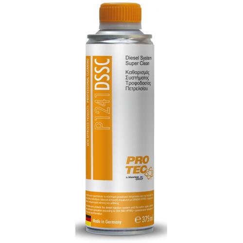 PROTEC - P1241 Diesel System Super Clean – Καθαρισμός Συστήματος Τροφοδοσίας Πετρελαίου 375ml.