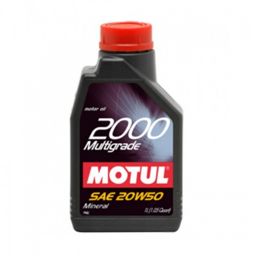 Motul 2000 Multigrade 20W50 1lt