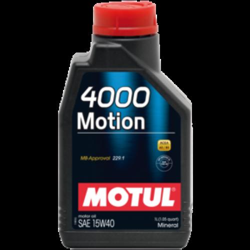 Motul 4000 Motion 15W40 1lt