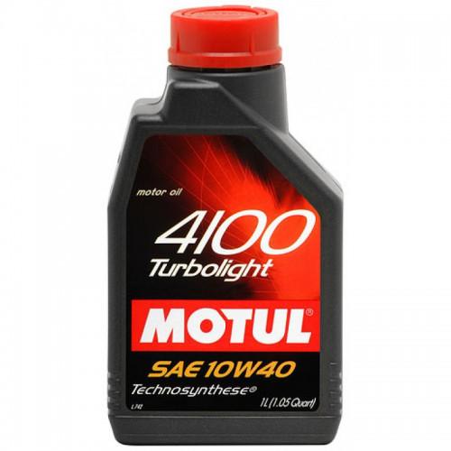 MOTUL 4100 Turbolight 10W-40 1LT