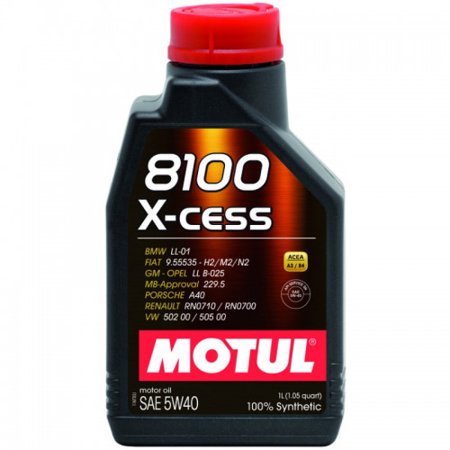 MOTUL 8100 X-cess 5W-40 1LT