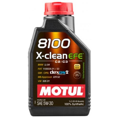 Motul 8100 X-CLEAN EFE 5W30 1lt