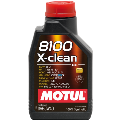 MOTUL 8100 X-clean 5W-40 C3 1LT