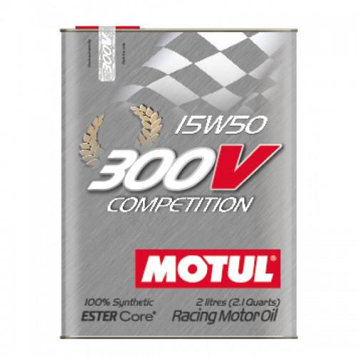 300V Motorsport Competition 15W50 2lt