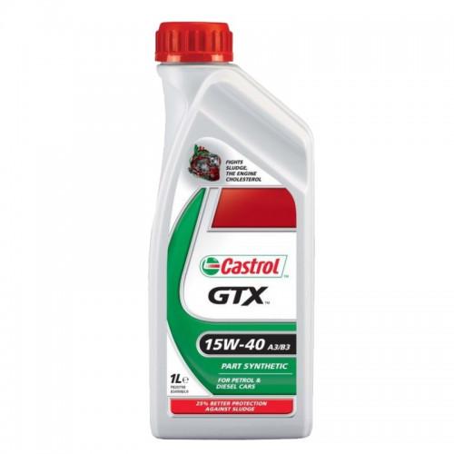 CASTROL GTX 15W-40 A3/B3 1LT