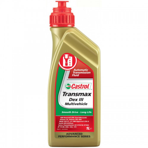 CASTROL TRANSMAX DEX III MULTIVΕHICLE 1lt