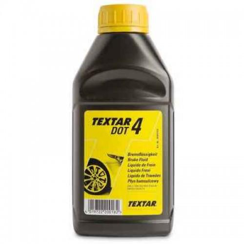 Υγρό φρένου DOT4 TEXTAR 500ml