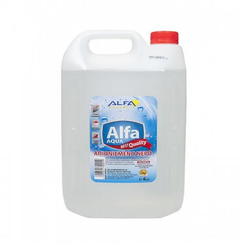 Απιονισμένο Νερό 4ltr