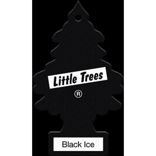 Αρωματικό Δεντράκι Little Trees Black Ice