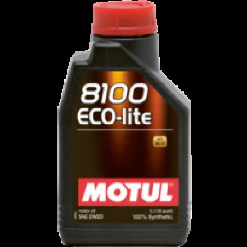 Motul 8100 Eco-lite 0W20 1lt