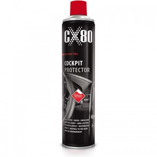 CX80 COCKPIT PROTECTOR TEFLON ΣΠΡΕΙ ΚΑΘΑΡΙΣΜΟΥ ΑΥΤΟΚΙΝΗΤΩΝ 600 ML