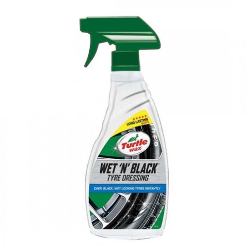 Wet 'n' Black Trigger Spray 500ml, TURTLE WAX