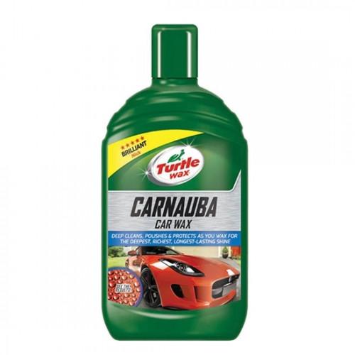 Υγρό κερί γυαλίσματος Carnauba Car Wax 500ml, TURTLE WAX