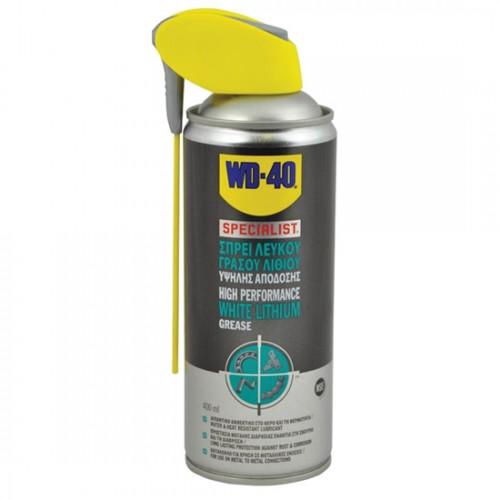 WD-40 Specialist White Lithium Grease Spray 400ml σπρέι λευκού γράσου