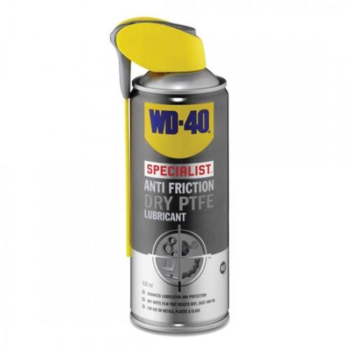 WD-40 Specialist Dry PTFE Lubricant 400ml, σπρέι ξηρού PTFE
