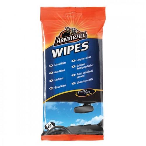 Υγρά μαντηλάκια για τα τζάμια Flow-pack wipes glass 20 τεμ., ARMOR ALL