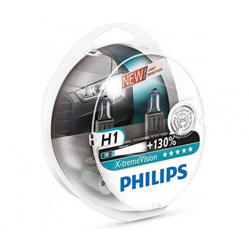 Λάμπες Philips H1 X-treme Vision Pro150 12V 55W Έως 150% Περισσότερο Φως