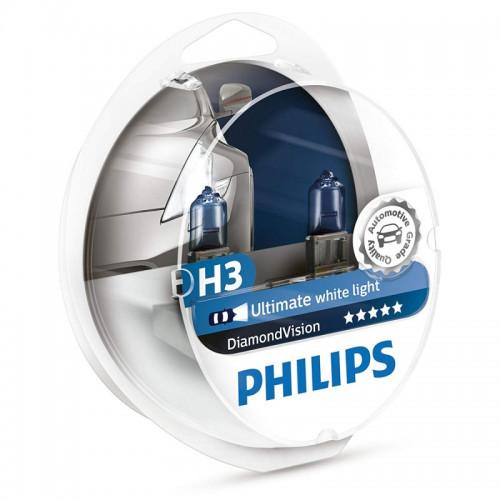 Λάμπες Philips H3 Diamond Vision 12V 55W 5000K