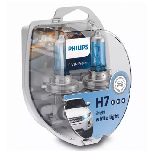 Λάμπες Philips H7 12V 55W Crystal Vision 4300K