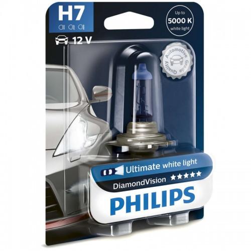 Λάμπα Philips H7 12V 55W Diamond Vision