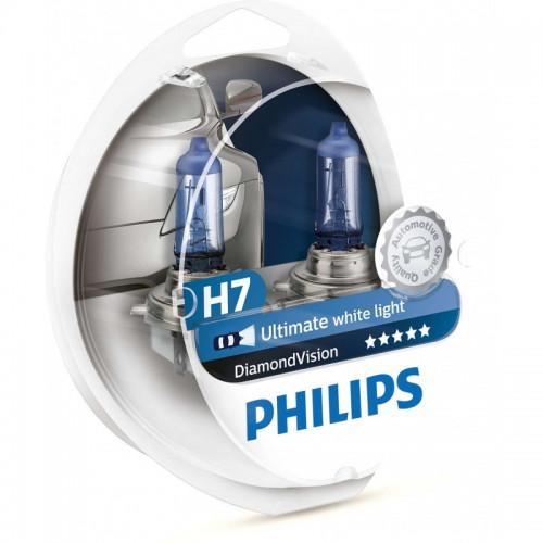 Λάμπες Philips H7 12V 55W Diamond Vision 5000K