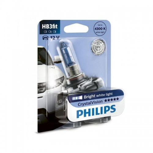 Λάμπα Philips HB3 12V 60W Crystal Vision 4300K