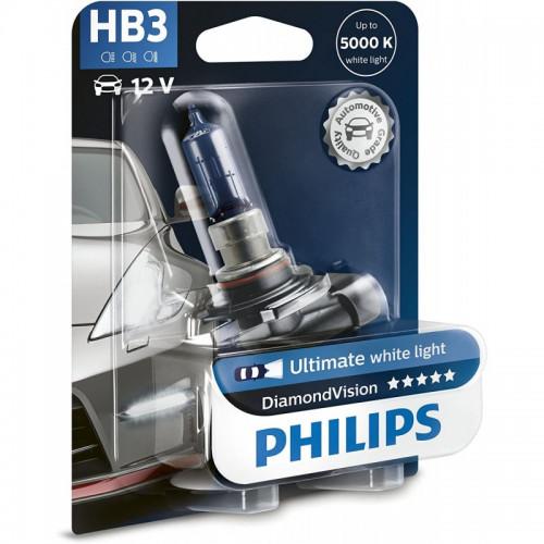 Λάμπα Philips HB3 12V 60W Diamond Vision 5000K