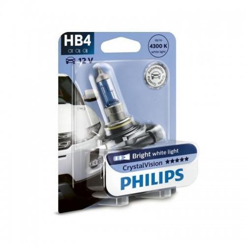 Λάμπα Philips HB4 12V 55W Crystal Vision 4300K
