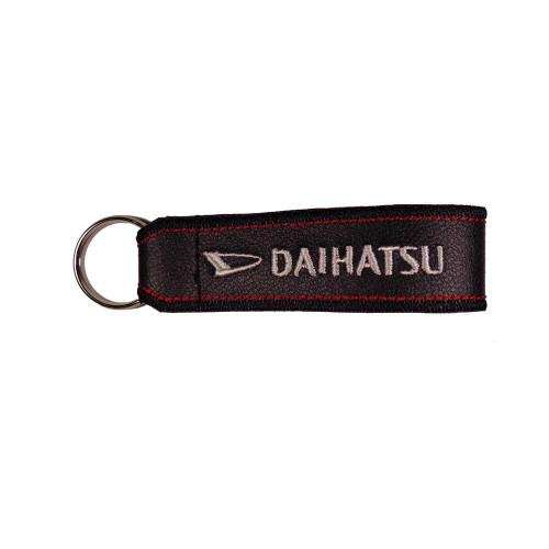 Μπρελόκ δερματίνης με κεντητό λογότυπο DAIHATSU