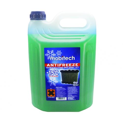 Mobitech Παραφλού -15°C Πράσινο 4LT